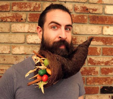 food-in-beard